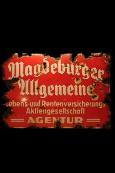 """Szyld Reklamowy """"Magdeburg Ubezpieczenia"""""""