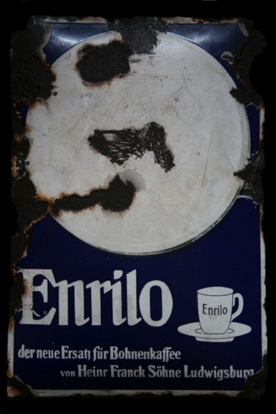 "Advertising signboard ""Coffee Enrilo"""