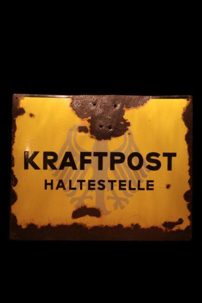 """Information signboard """"Kraftpost"""""""